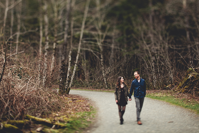 Rattlesnake Lake Engagement // Dustin & Holly