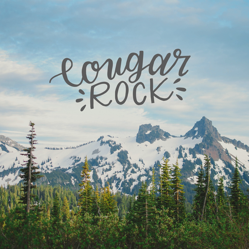 Cougar Rock Mt. Rainier, Hike the PNW
