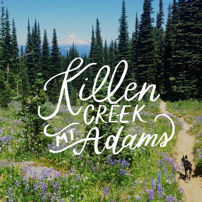Killen Creek, Mt. Adams // Hike the PNW