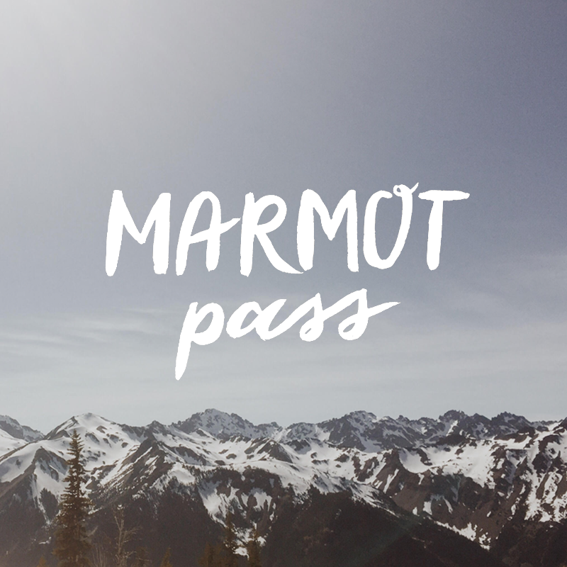 Marmot Pass, Olympic National Forest