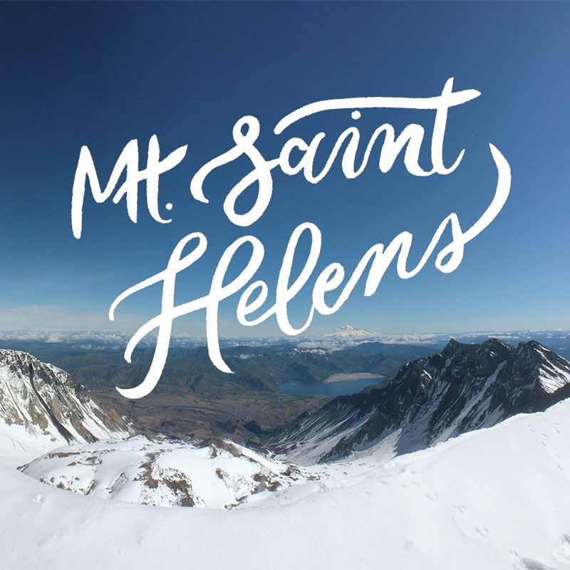 Mt. St. Helens Summit